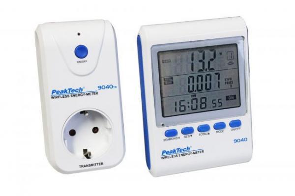 Miernik zużycia 9040 energii bezprzewodowy,0
