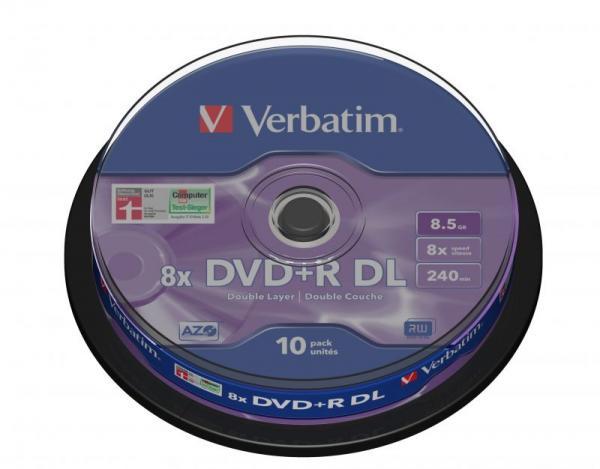 Płyta DVD+R DL Dual Layer Verbatim 43666,0