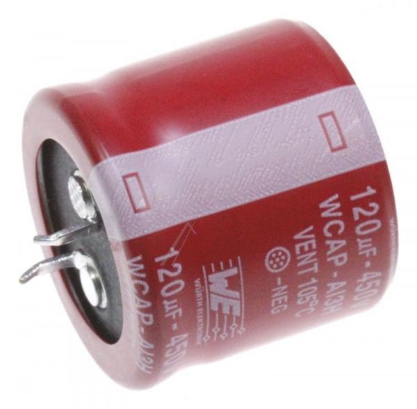 120uF | 450V Kondensator elektrolityczny 105°C26mm,0