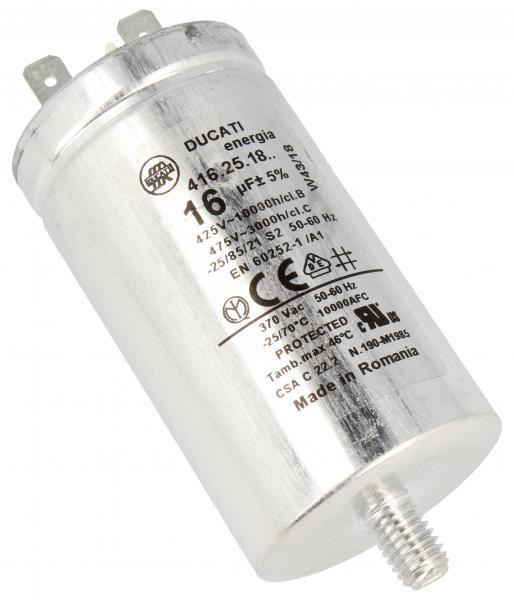 Kondensator rozruchowy 16,0UF475VFASTON6,3MM,0