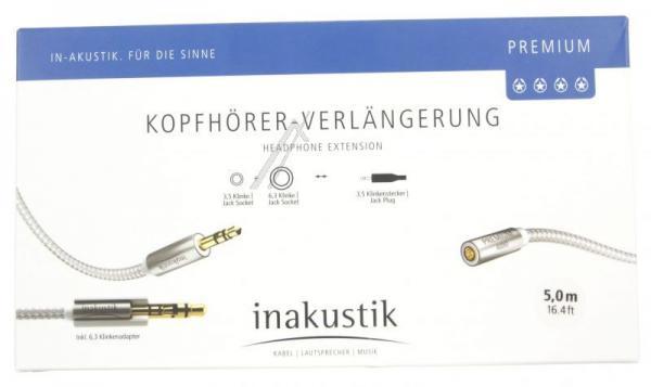 Kabel Jack 3,5mm stereo (gniazdo/ wtyk) | (Premium II) Inakustik 00410205,2