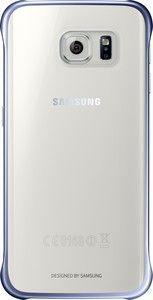 Pokrowiec   Etui Clear Cover do smartfona Galaxy S6 Edge EFQG925BBEGWW (czarne),0