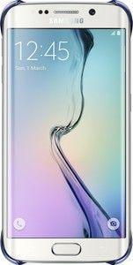Pokrowiec   Etui Clear Cover do smartfona Galaxy S6 Edge EFQG925BBEGWW (czarne),1