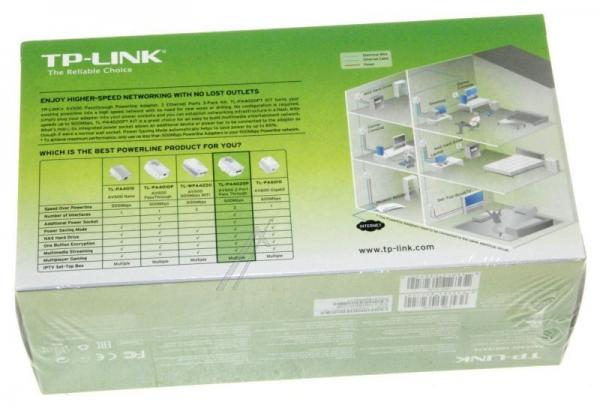 Transmiter | Adapter Powerline zestaw TP-Link TLPA4020PTKIT,3