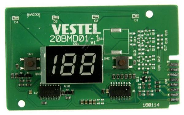 32020849 DISPLAY CARD VC4/RED LED/23187577 VESTEL,0