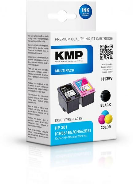 Zestaw tuszy czarny+kolor do drukarki  H135V,0