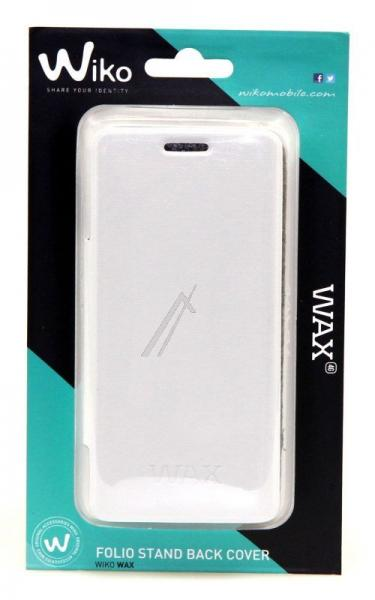 Pokrowiec | Etui Flip Cover do smartfona WIKO Wax 93313 (białe),0