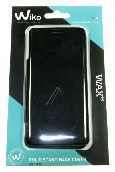 Pokrowiec   Etui Flip Cover do smartfona WIKO Wax 93312 (czarne),0