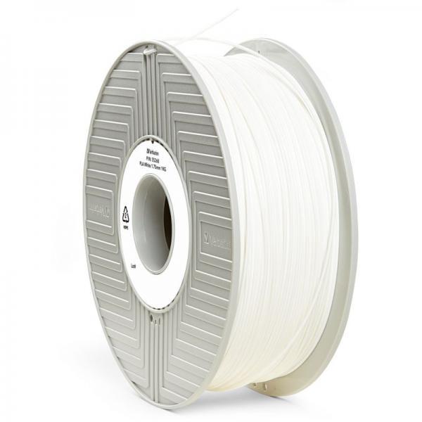 Włókno | Filament PLA 1.75mm Verbatim 55268 (biały),0