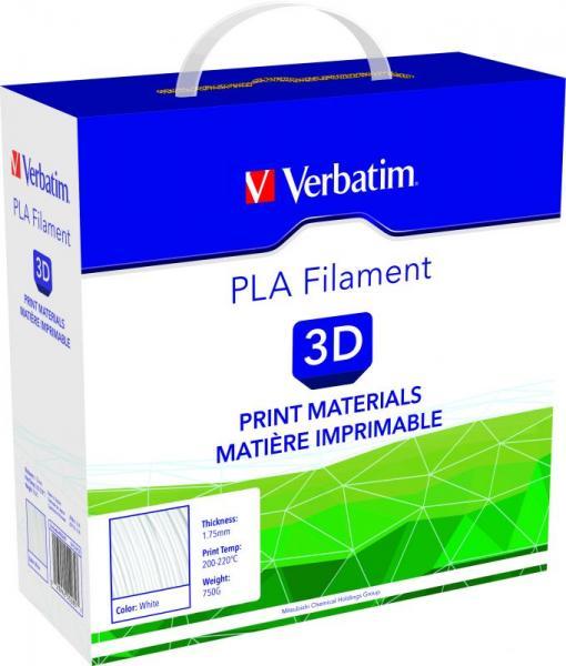 Włókno | Filament PLA 1.75mm Verbatim 55285 (biały),1