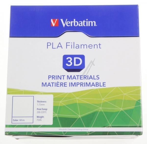 Włókno | Filament PLA 1.75mm Verbatim 55285 (biały),2