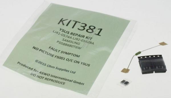 KIT381 zestaw naprawczy modułu y-sus do samsung,0