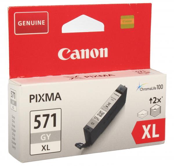 0335C001 CLI571GYXL TINTENPATRONE, GRAU, 11ML CANON,0