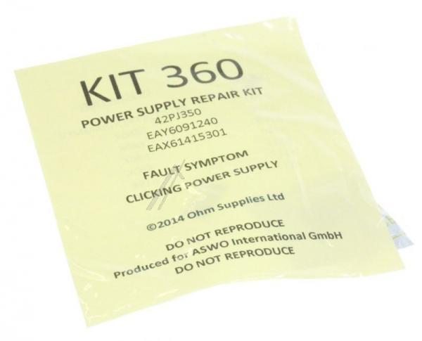 KIT360 Zestaw naprawczy przetwornicy do LG,0