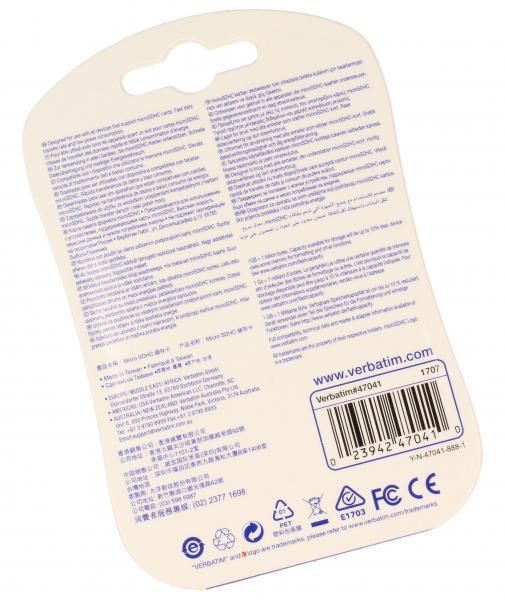 Karta pamięci microSD HC 32GB do smartfona Verbatim,1