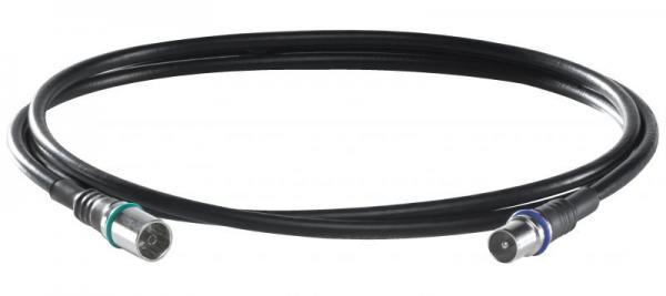 73378 DS37U0150 Kabel IEC wt/gn, 1,5m WISI,0