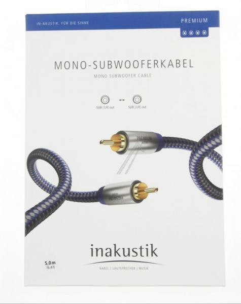 Kabel CINCH 5m Inakustik 00408051 Premium (wtyk/wtyk),2