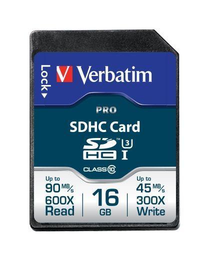 Karta pamięci SD HC 16GB do aparatu fotograficznego Verbatim,0