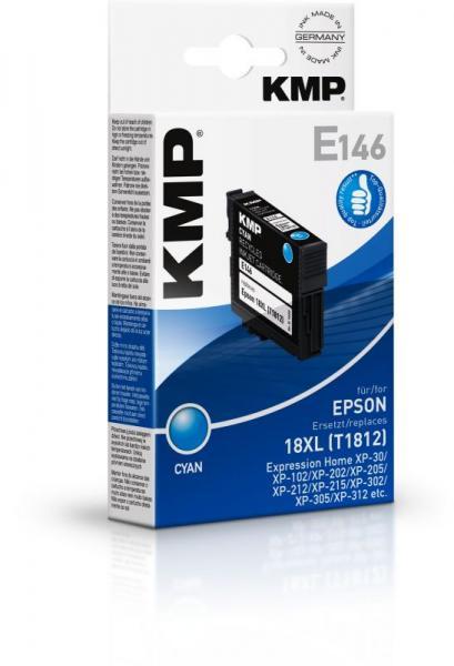 E146 1622,4003 TINTENPATRONE, CYAN KMP,0