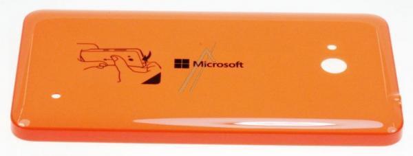 Klapka baterii do smartfona Lumia 640 02509P7 (pomarańczowa),0