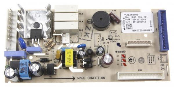 4943833900 KONTROL KART GR U-1 NF SF V0 H I B G84NE ARCELIK,0