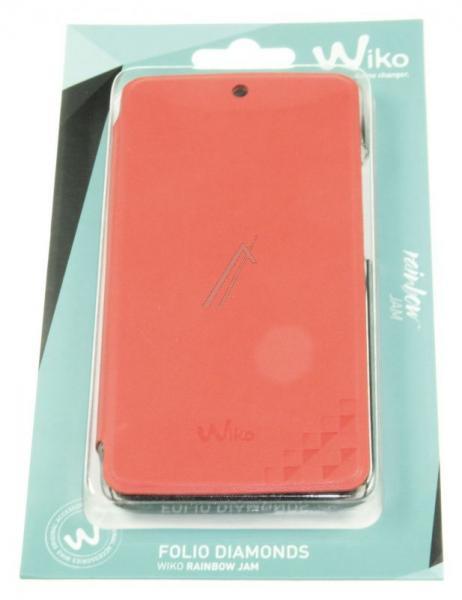 Pokrowiec | Etui Flip Cover do smartfona WIKO RAINBOW JAM 95351 (czerwone),2
