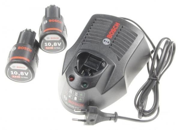 1600A004ZP Zestaw startowy 2 akumulatory 2,5Ah z ładowarką 10,8 V,0