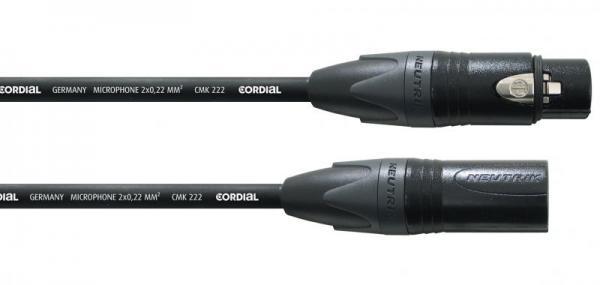 Kabel XLR 7.5m CPM7,5FM (gniazdo/wtyk),0