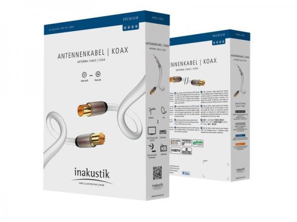 Kabel antenowy Inakustik (wtyk/gniazdo),0