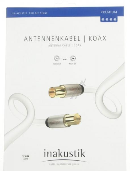 Kabel antenowy Inakustik (wtyk/gniazdo),2