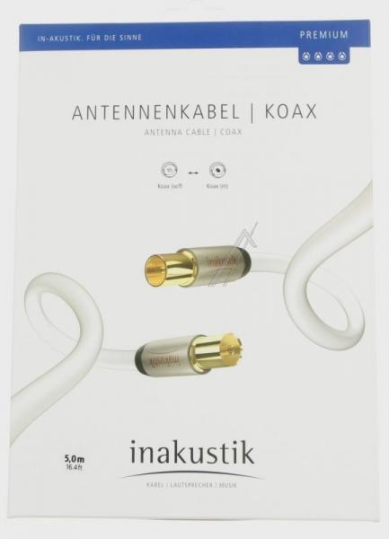Kabel antenowy 5m Inakustik (wtyk/gniazdo),2