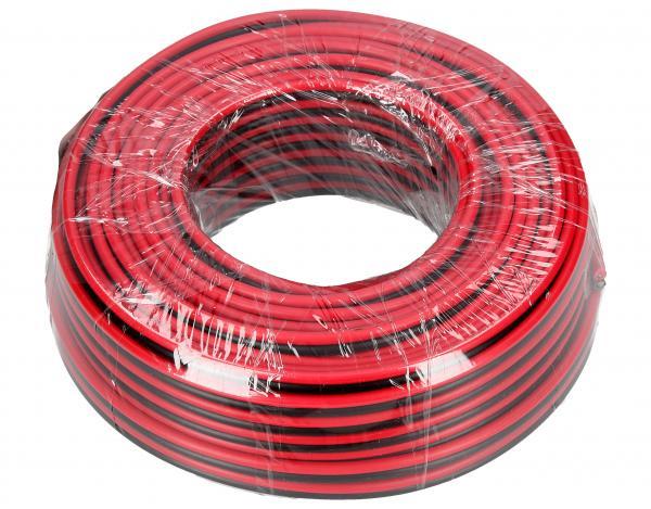 2X1,5MM Kabel głośnikowy, miedź/aluminium, dł. 25m, 2x 1,50 mm2,0