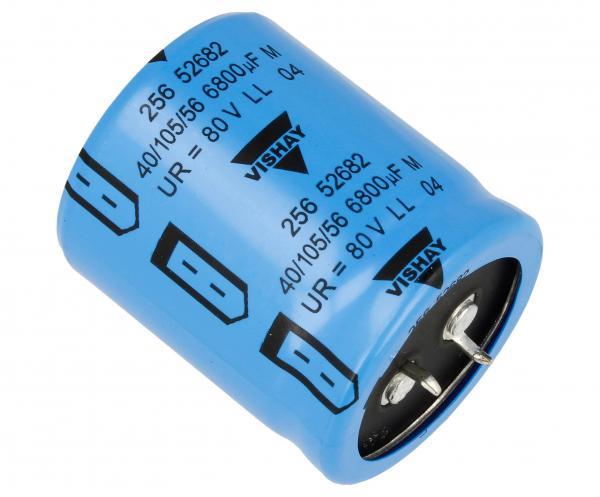 6800uF | 80V Kondensator elektrolityczny 105°C,0