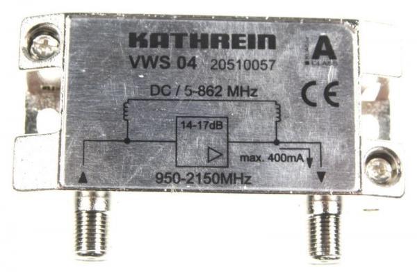 20510057 VWS04 SAT-ZF-VERSTÄRKER  5-862/950-2150 MHZ KATHREIN,1