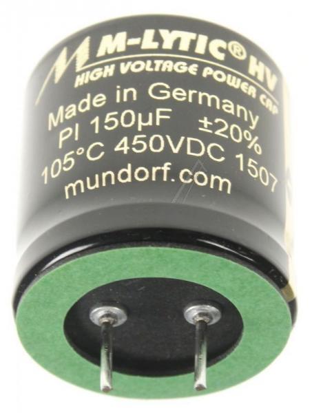 150uF | 450V Kondensator elektrolityczny Mundorf MLGO450150,0
