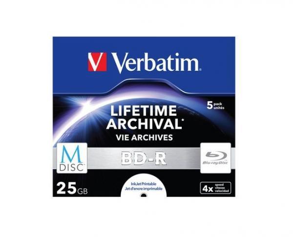 Płyta BD-R M-Disc Verbatim 43823,0