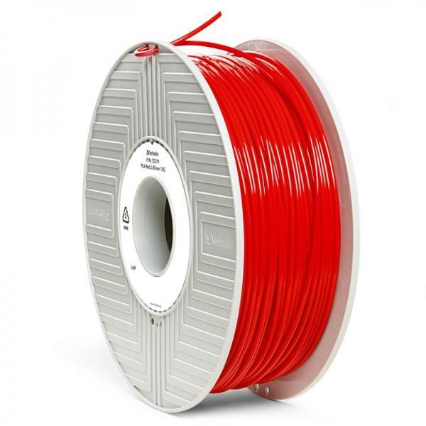 Włókno | Filament PLA 2.85mm Verbatim 55279 (czerwony),0