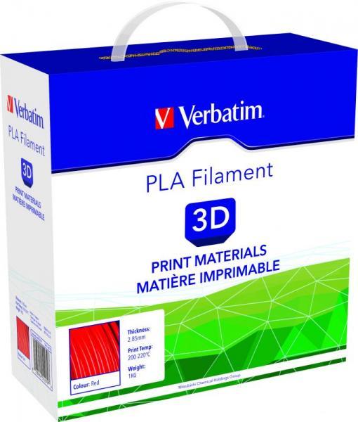 Włókno | Filament PLA 2.85mm Verbatim 55279 (czerwony),1