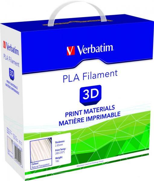 Włókno   Filament PLA 2.85mm Verbatim 55282 (transparentny),1