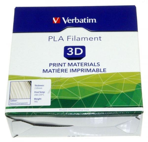 Włókno   Filament PLA 2.85mm Verbatim 55282 (transparentny),2