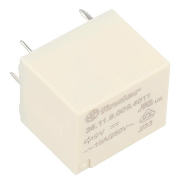 Przekaźnik 9VDC10A250VAC,1