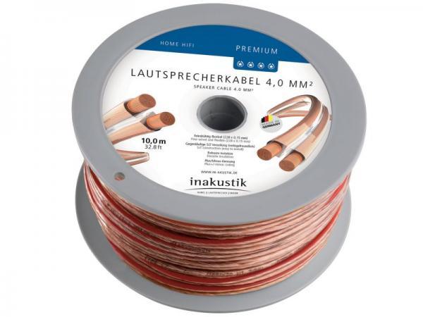 Kabel głośnikowy 4mm x2 Inakustik 00402410,0