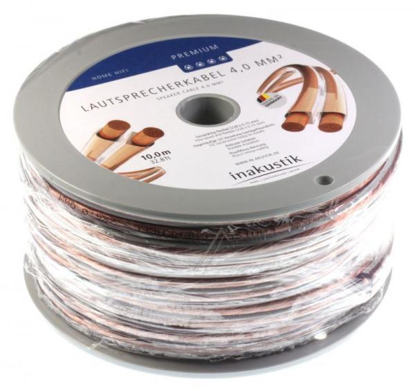 Kabel głośnikowy 4mm x2 Inakustik 00402410,1