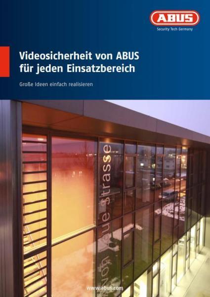 MBRO10010 THEMENPROSPEKT VIDEOSICHERHEIT FÜR JEDEN EINSATZBEREICH, 10 STÜCK ABUS,0