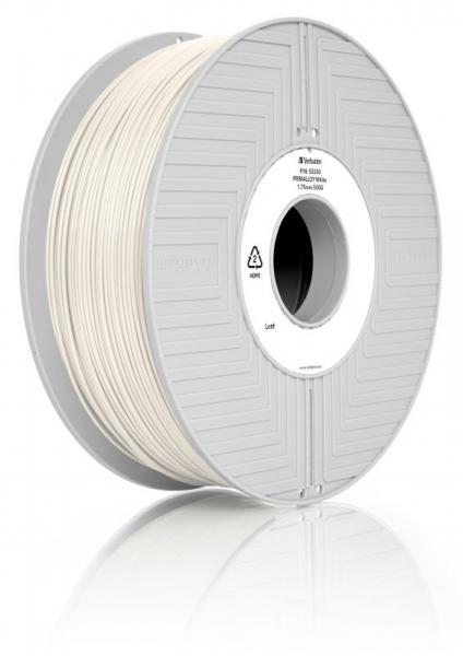 Włókno | Filament PRIMALLOY 1.75mm Verbatim 55500 (biały),0