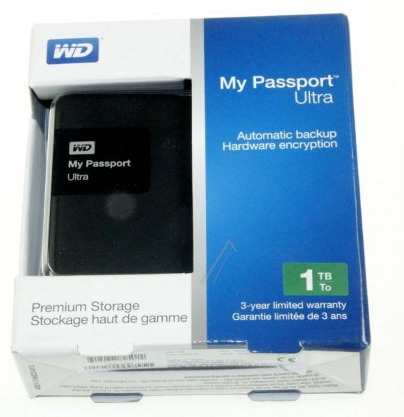 "WDBGPU0010BBKEESN MYPASSPORTULTRA 1TB 2,5\""/USB3.0 FESTPLATTE, BK WESTERN DIGITAL,3"