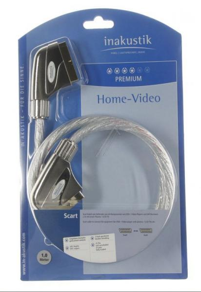 Kabel SCART (wtyk/ wtyk) | (płaski) Inakustik 0042201,1