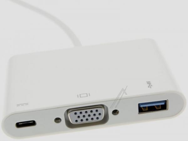 Adapter usb 3.1C na Multiport VGA, USB 3.1C, USB 3.0,2