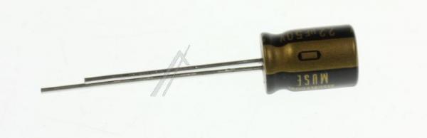 22UF50V ELKO RADIAL 85° 8X11,5MM -PREMIUM AUDIO GRADE- NICHICON,0