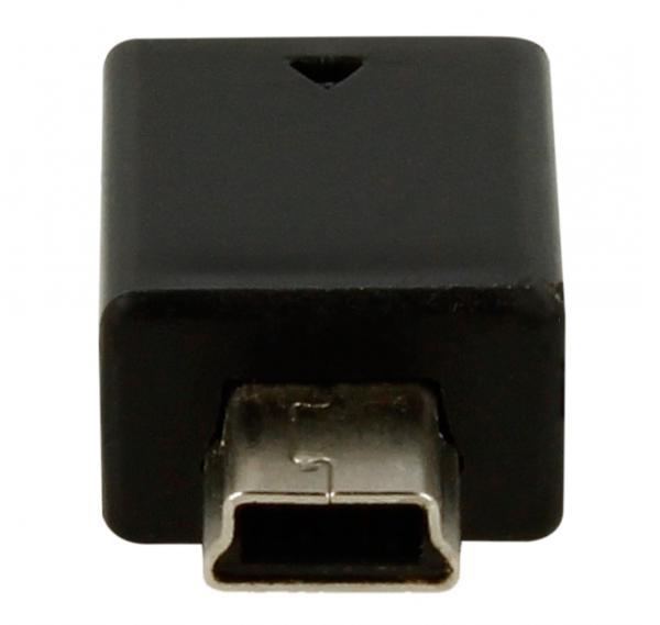 ADAPTER, MINI USB B STECKER / MICRO USB AB BUCHSE,2